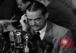 Image of Senate Hearings with Howard Hughes Washington DC USA, 1947, second 62 stock footage video 65675071720