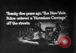 Image of Early 1900s car traffic New York City United States USA, 1920, second 14 stock footage video 65675071726