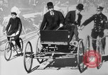 Image of Early 1900s car traffic New York City United States USA, 1920, second 23 stock footage video 65675071726