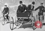 Image of Early 1900s car traffic New York City United States USA, 1920, second 25 stock footage video 65675071726