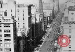 Image of Early 1900s car traffic New York City United States USA, 1920, second 41 stock footage video 65675071726
