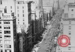 Image of Early 1900s car traffic New York City United States USA, 1920, second 42 stock footage video 65675071726