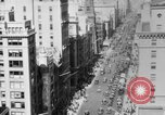 Image of Early 1900s car traffic New York City United States USA, 1920, second 43 stock footage video 65675071726