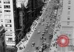 Image of Early 1900s car traffic New York City United States USA, 1920, second 49 stock footage video 65675071726