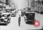 Image of Early 1900s car traffic New York City United States USA, 1920, second 53 stock footage video 65675071726