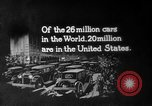 Image of Early 1900s car traffic New York City United States USA, 1920, second 56 stock footage video 65675071726