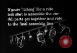 Image of Final assembly of Studebaker cars in factory South Bend Indiana USA, 1920, second 1 stock footage video 65675071731