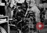 Image of Final assembly of Studebaker cars in factory South Bend Indiana USA, 1920, second 48 stock footage video 65675071731