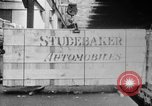 Image of Automobiles crated for export at the Studebaker factory in America United States USA, 1920, second 20 stock footage video 65675071732
