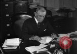 Image of Woodrow Wilson signs proclamation of war against Germany Washington DC USA, 1917, second 13 stock footage video 65675071733