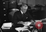 Image of Woodrow Wilson signs proclamation of war against Germany Washington DC USA, 1917, second 14 stock footage video 65675071733