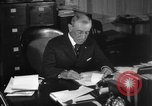 Image of Woodrow Wilson signs proclamation of war against Germany Washington DC USA, 1917, second 15 stock footage video 65675071733