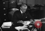Image of Woodrow Wilson signs proclamation of war against Germany Washington DC USA, 1917, second 17 stock footage video 65675071733