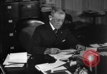 Image of Woodrow Wilson signs proclamation of war against Germany Washington DC USA, 1917, second 22 stock footage video 65675071733