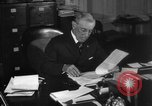 Image of Woodrow Wilson signs proclamation of war against Germany Washington DC USA, 1917, second 24 stock footage video 65675071733