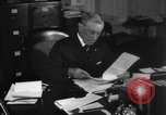 Image of Woodrow Wilson signs proclamation of war against Germany Washington DC USA, 1917, second 26 stock footage video 65675071733