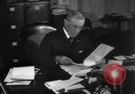 Image of Woodrow Wilson signs proclamation of war against Germany Washington DC USA, 1917, second 27 stock footage video 65675071733
