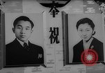 Image of royal wedding preparations Tokyo Japan, 1959, second 13 stock footage video 65675071751