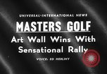 Image of Masters Golf Tournament Augusta Georgia USA, 1959, second 1 stock footage video 65675071753