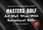 Image of Masters Golf Tournament Augusta Georgia USA, 1959, second 2 stock footage video 65675071753