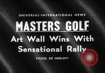 Image of Masters Golf Tournament Augusta Georgia USA, 1959, second 4 stock footage video 65675071753