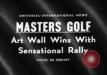 Image of Masters Golf Tournament Augusta Georgia USA, 1959, second 5 stock footage video 65675071753