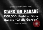 Image of fashion parade Universal City Los Angeles California USA, 1964, second 1 stock footage video 65675071763