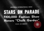 Image of fashion parade Universal City Los Angeles California USA, 1964, second 4 stock footage video 65675071763