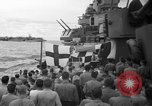 Image of funeral Pacific Ocean, 1944, second 2 stock footage video 65675071809