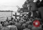 Image of funeral Pacific Ocean, 1944, second 3 stock footage video 65675071809