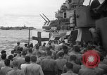 Image of funeral Pacific Ocean, 1944, second 4 stock footage video 65675071809