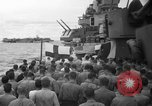 Image of funeral Pacific Ocean, 1944, second 5 stock footage video 65675071809