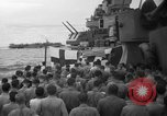 Image of funeral Pacific Ocean, 1944, second 7 stock footage video 65675071809