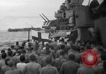 Image of funeral Pacific Ocean, 1944, second 8 stock footage video 65675071809