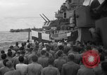 Image of funeral Pacific Ocean, 1944, second 9 stock footage video 65675071809