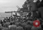 Image of funeral Pacific Ocean, 1944, second 10 stock footage video 65675071809