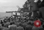 Image of funeral Pacific Ocean, 1944, second 11 stock footage video 65675071809