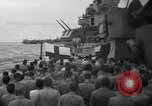 Image of funeral Pacific Ocean, 1944, second 12 stock footage video 65675071809