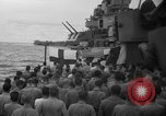 Image of funeral Pacific Ocean, 1944, second 15 stock footage video 65675071809