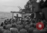 Image of funeral Pacific Ocean, 1944, second 16 stock footage video 65675071809