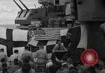 Image of funeral Pacific Ocean, 1944, second 17 stock footage video 65675071809