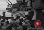 Image of funeral Pacific Ocean, 1944, second 18 stock footage video 65675071809