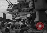 Image of funeral Pacific Ocean, 1944, second 19 stock footage video 65675071809