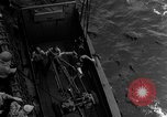 Image of Marines in landing vehicle tracked (LVT) during amphibious assault Pacific Theater, 1944, second 47 stock footage video 65675071826