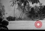 Image of Marines in landing vehicle tracked (LVT) during amphibious assault Pacific Theater, 1944, second 59 stock footage video 65675071826