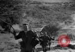 Image of British soldiers in battle gear European Theater, 1944, second 51 stock footage video 65675071827