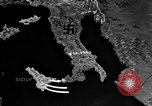 Image of Map shows path of Allied invasion of Italy from Sicily Italy, 1943, second 4 stock footage video 65675071828
