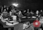 Image of Ferry testifies at McCarthy Army Signal Corps hearings New York City USA, 1953, second 26 stock footage video 65675071883