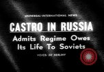 Image of Fidel Castro Moscow Russia Soviet Union, 1963, second 5 stock footage video 65675071885