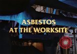 Image of asbestos United States USA, 1980, second 16 stock footage video 65675071889